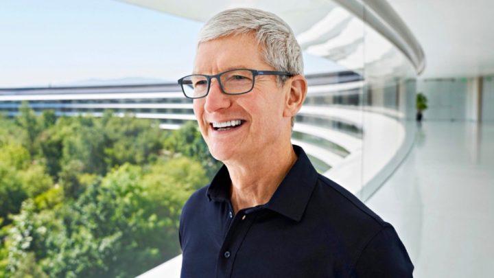 Imagem Tim Cook, CEO da Apple
