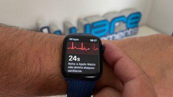 Imagem Apple Watch Series 6 com ECG