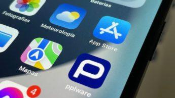 Ilustração App Store da Apple