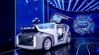 Robô-carro elétrico da Baidu