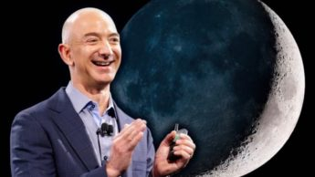 Imagem Jeff Bezos CEO da Blue Origin