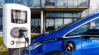 Ponto de carregamento para carros elétricos