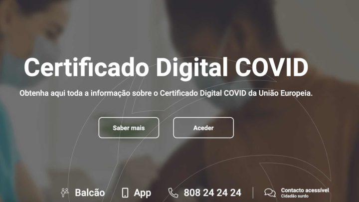 COVID-19: Certificado expirado? É só proceder à renovação