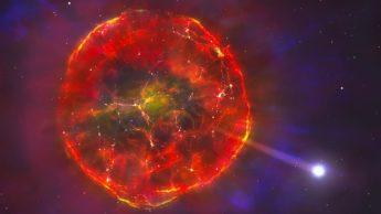 Imagem estrela de metais a fugir da Terra