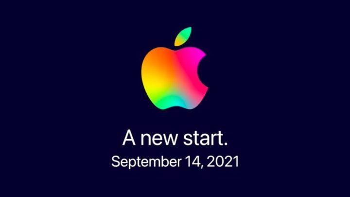 Ilustração Evento Apple para apresentação iPhone 13