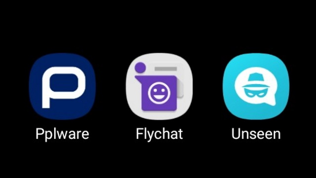 Imagem Flychat e Unseen