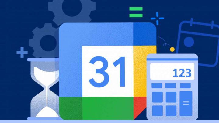 Google Calendar reuniões agenda tempo