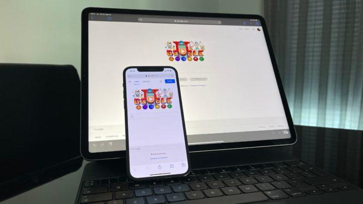 Imagem motor de pesquisa Google no ecossistema Apple
