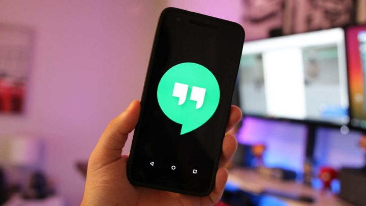 Google Hangouts Talk serviço mensagens