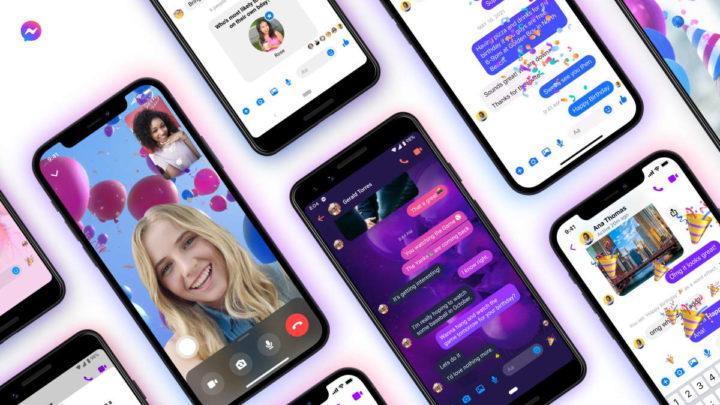 Messenger Facebook aniversário serviço rede social