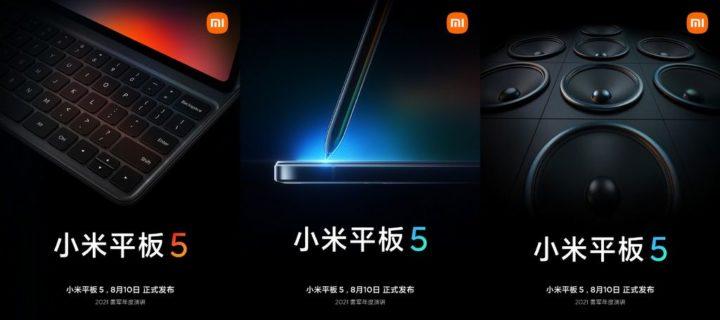 Evento Xiaomi: Além do Mi MIX 4, haverá um novo tablet e até smartTV OLED para jogos