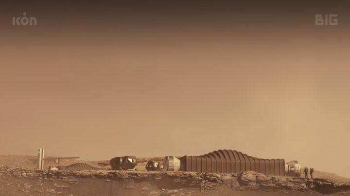 Simulação de ambiente de Marte, NASA