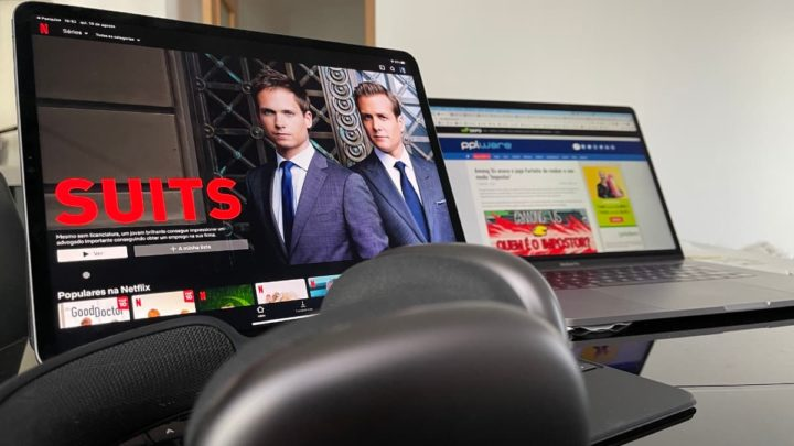 Imagem Netflix com áudio espacial nos AirPods Pro e AirPods Max