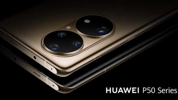 Huawei P50 5G smartphone