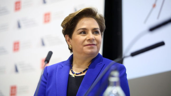 Chefe da ONU para o clima, Patrícia Espinosa