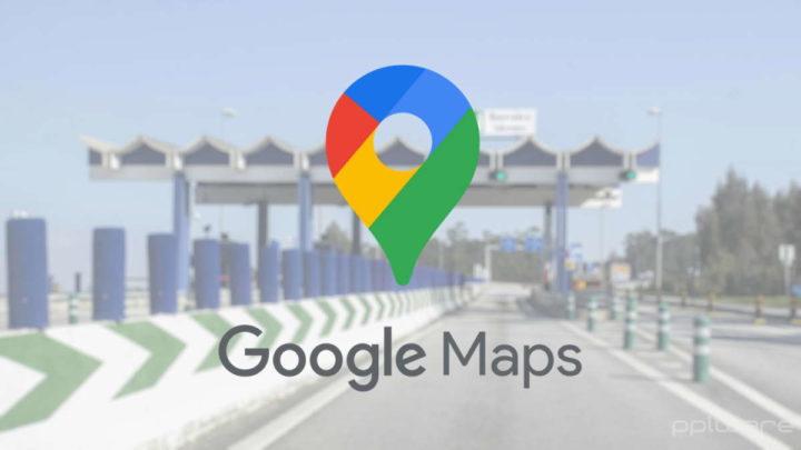 Google Maps portagens autoestrada valor