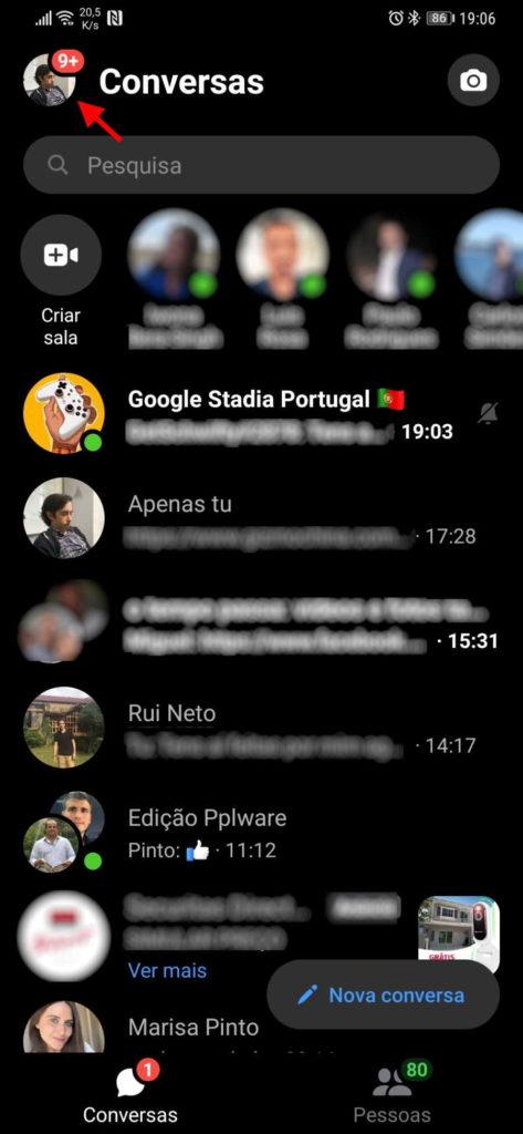 Sprachnachrichten auf Messenger Facebook