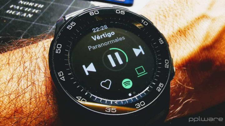 Spotify Wear OS smartwatch relógio música