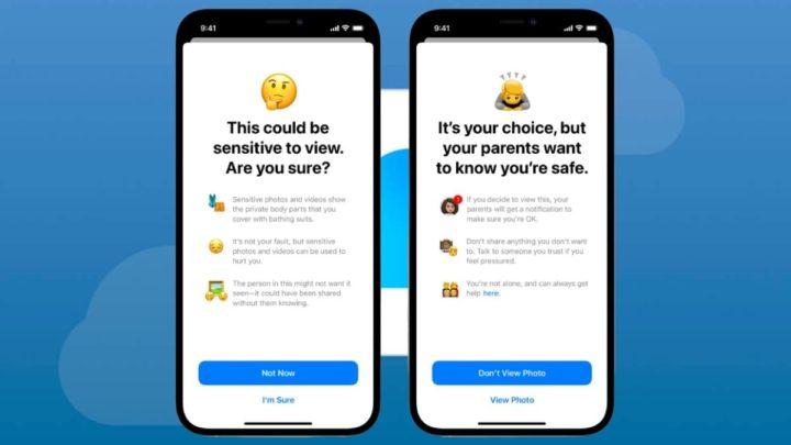 Imagem sistema da Apple contra abuso de crianças e pornografia infantil