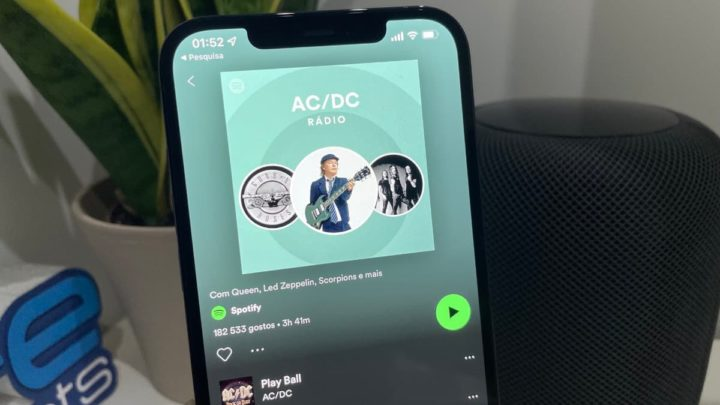 Imagem Spotify sem AirPlay 2