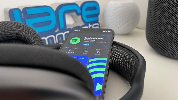 Imagem Spotify na App Store com novas regras para programadores