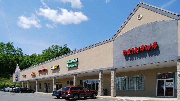 Strip Mall nos EUA