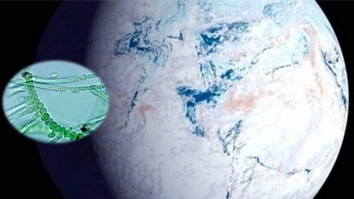 Imagem da Terra primitiva no Grande Evento de Oxidação