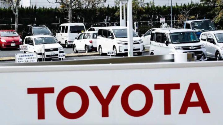 Toyota vai reduzir a produção em 40% por falta de chips