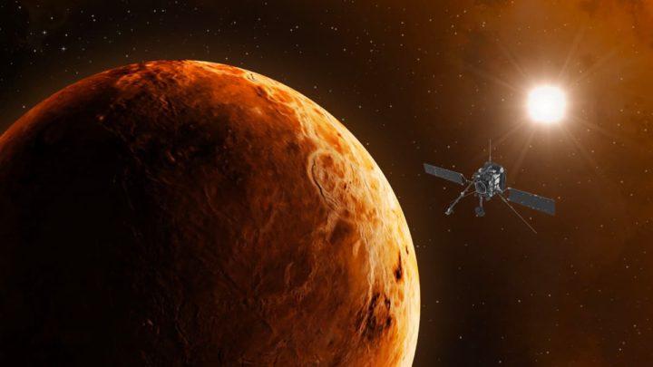 Imagem de Vénus com a sonda Solar Orbiter da NASA e da ESA