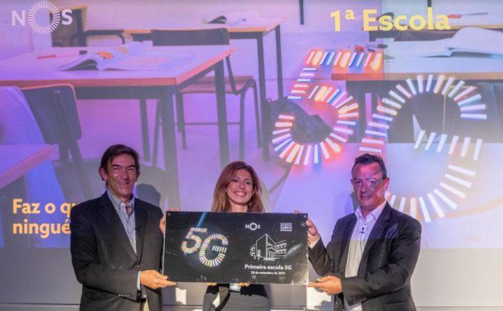 In Portugal gibt es bereits eine Schule mit 5G!  weiß wo es ist