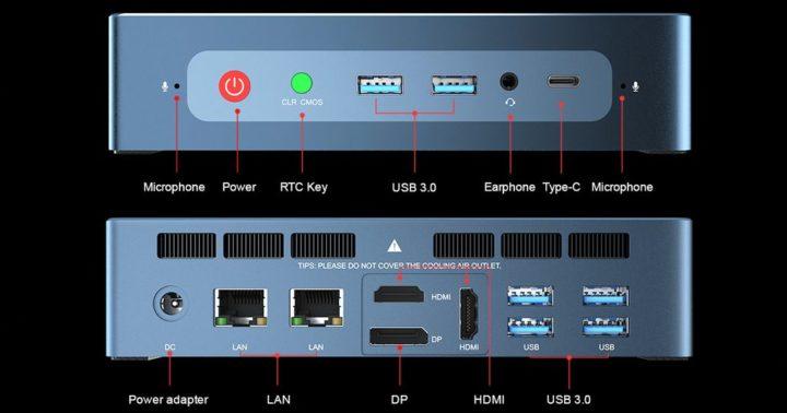 Beelink GTR - um novo mini PC equipado com AMD Ryzen 7 3750H