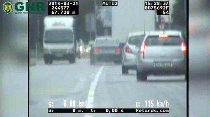 GNR publica vídeo com mostra manobras perigosas dos portugueses