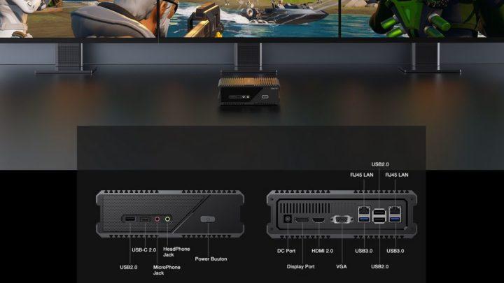 Chuwi RZBOX: um mini PC equipado com processador AMD Ryzen 9 4900H