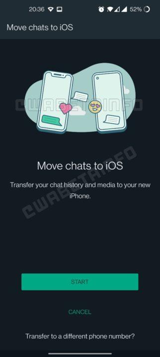WhatsApp Android iOS migrar novidades