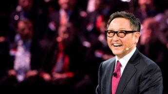 Akio Toyoda, presidente da Toyota e da JAMA