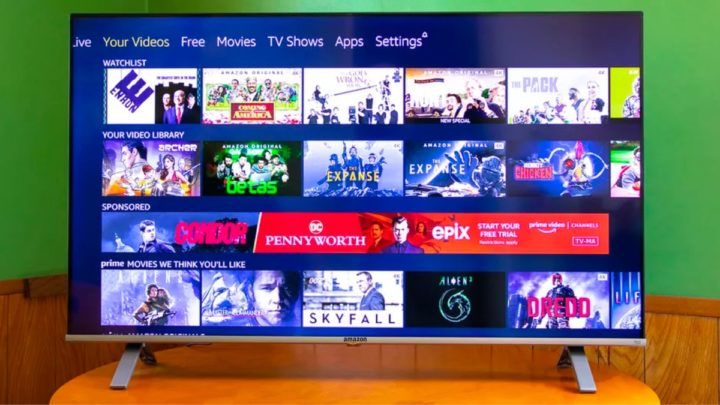 Ilustração Amazon TV
