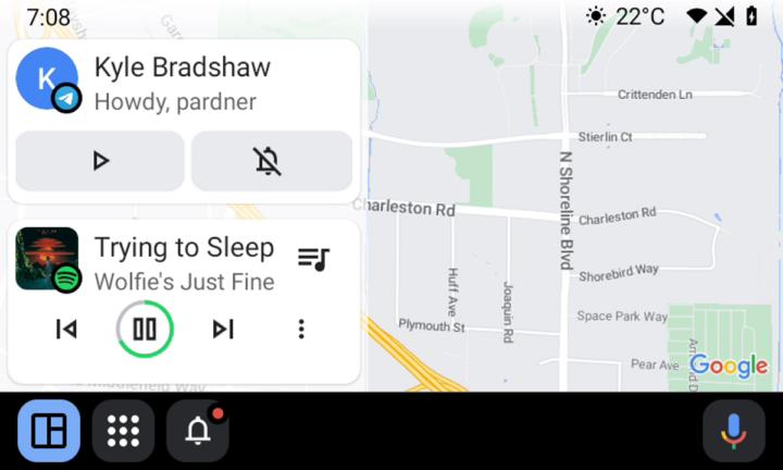 Android Auto Google condutores