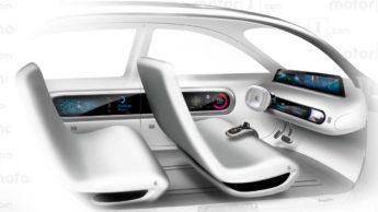 Imagem Concept Apple Car