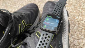 Imagem Apple Watch calibrado