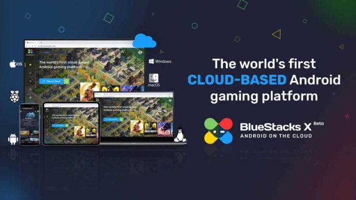 BlueStacks X Android emulador Cloud