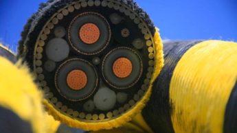 Imagem interior dos cabos submarinos