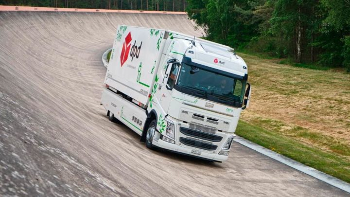 Camião elétrico da Futuricum percorre 1099 km com uma única carga