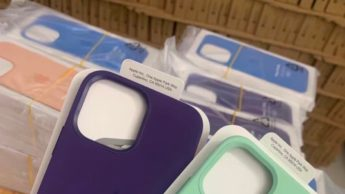 Imagem capas silicone para iPhone 13