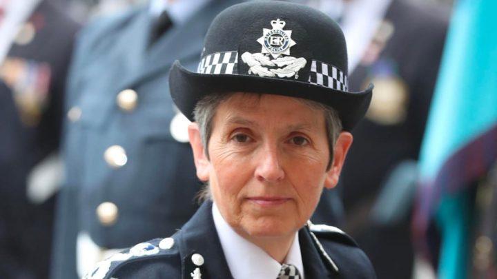 Imagem chefe da polícia de Londres, Cressida Dick
