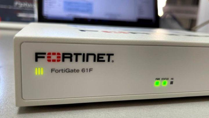 Fortinet: Lernen Sie die Fortigate 61F Security Appliance kennen
