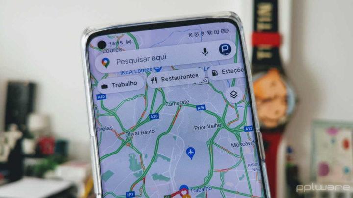 Google Maps voz problema atualização