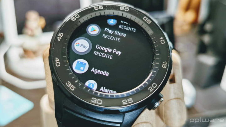 Google Pay Android smartwatches relógio