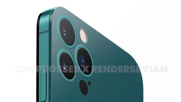 Imagem iPhone 14 com botões redondos de volume, segundo Jon Prosser