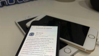 Imagem iPhone 5S com iOS 12.5.5