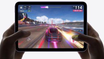 Imagem iPad mini com chip A15